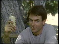 Mark Harmon in 1985 Coors Beer Commercial Beer Commercials, Mark Harmon, Candy, Guys, Youtube, Sweets, Sons, Candy Bars, Youtubers