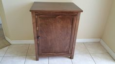 Tall, Thin & Narrow, Odor Free, Custom, Hand Made in USA, Wood Cat Litter Box Cabinet. No Assembly Needed. Not MDF