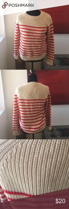 Adorable J.Crew sweater Worn but in great condition with no issues super cute and perfect for layering bundle for a better price! J. Crew Sweaters Crew & Scoop Necks