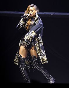 Rihanna's Custom Givenchy Coat for Her Diamonds World Tour