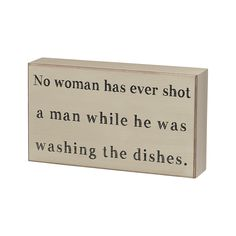 Washing the Dishes' Box www.aperfectpresent.com