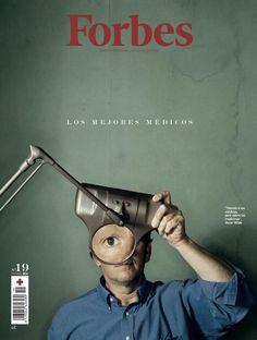 Forbes Spanien: Bei dieser Titelseite der spanischen Ausgabe des Wirtschaftsmagazins macht der Betrachter sogar zwei große Augen.