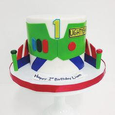 Buzz Lightyear Cake by #sweet_deetails and #elisecakes