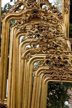 Antike Spiegel   Antike Französische Spiegel   Antike Blattgold Spiegel    Antiker Spiegel   Spiegel Antik