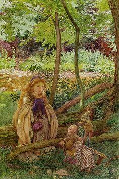 Eleanor Fortescue Brickdale (English, 1872-1945).