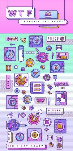 Mexican graphic designer and illustration lover :) Coperate Design, Layout Design, Icon Design, Logo Design, Flat Design, Pop Art Design, Graphic Design Posters, Graphic Design Illustration, Graphic Design Inspiration