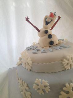Disney Frozencake Olaf for Eline 6 ❄