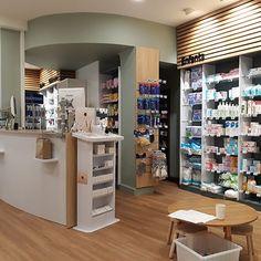 Richard Palacci Pharmacien Nice Shoe Store Design, Poitiers, Pharmacy, Boutique, Boursin, Heart, Decor, Store, Decoration