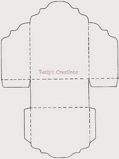 ♥♥♥ Diy Envelope Template, Card Templates, Fun Fold Cards, Folded Cards, Diy And Crafts, Paper Crafts, Karten Diy, Origami Paper Art, Diy Gift Box