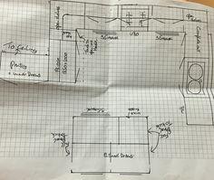 Kitchen plan. A few minor adjustments needed