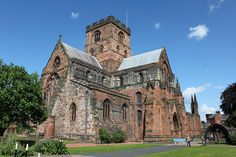 carlisle cathedral - one of the smallest in britain