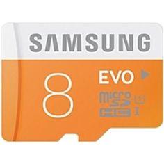 Samsung EVO 8 GB microSDHC - Class 10/UHS-I - 1 Card