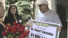 PCH August 31st $1 Million Winner Robert Gonzales