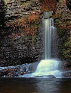 Deer Leap Falls, Childs Park, Dingmans Ferry, PA