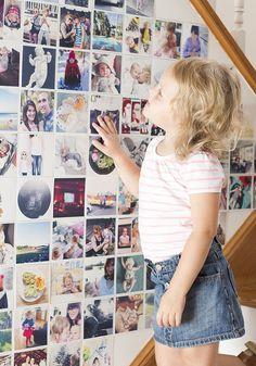 Instagram Photo Wall + printstagram for printing