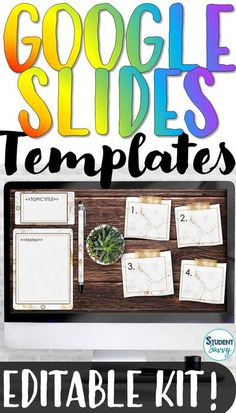 Looking for an engaging, digital tool that you can reuse over and over for ANY subject or grade level? If so, you have found the perfect Google Slides template resource for your classroom! The templates are a mock-up of a digital student desk - with 20 different designs of ipads, iphones, potted pla... Reading Resources, Teacher Resources, School Site, Student Teaching, Teaching Ideas, Teacher Helper, Student Desks, Substitute Teacher, Home Activities