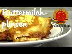 ostdeutsche Buttermilchplinsen (Eierkuchen) nach DDR Rezept