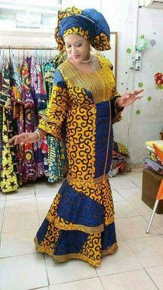 African Fashion Ankara, Latest African Fashion Dresses, African Dresses For Women, African Print Dresses, African Print Fashion, African Attire, African Wear, African Women, Africa Fashion