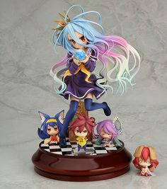 No Game No Life - Hatsuse Izuna - Jibril - Shiro - Sora - Stephanie Dola - 1/7 (Phat Company): Want