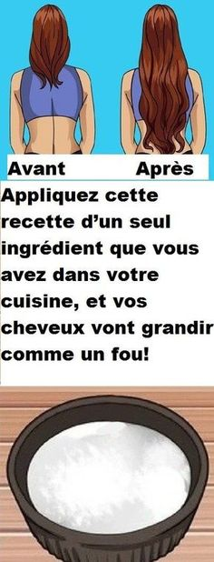Appliquez cette recette d'un seul ingrédient que vous avez dans votre cuisine, et vos cheveux vont grandir comme un fou! Grow Long Hair, Grow Hair, Diy Beauty Makeup, Hair Beauty, Braided Chignon, Baking Soda Shampoo, Hair Secrets, Hair Starting, Natural Shampoo