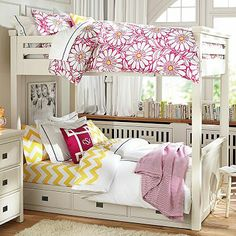 PB Teen: Oxford Bunkbed, idea for G's big girl bed