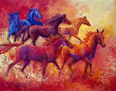 Bring the Mares Home by Marion Rose