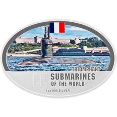 Submarines of the World Four Silver Bar Set 999 One Ounce New Zealand Mint