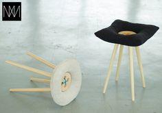 S-Tool - really cute button stools by Estonian designer Martin Saar- --