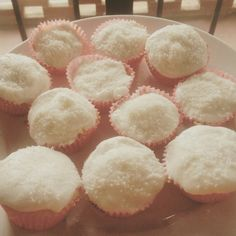 Cupcakes ananas and coconut