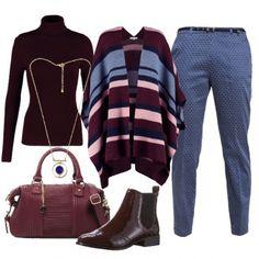 Outfit Righe e microfantasie