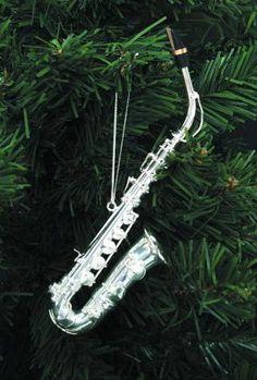 Mini Alto Saxophone replica • Silver