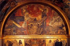 Frieze of Prophets, 1895 by John Singer Sargent. Neoclassicism. religious painting. Boston Public Library (United States)