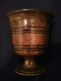 Bronze Islamic mortar (18th/19th century).