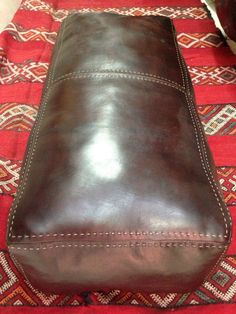 Genuine leather pouf sitting chair ottoman EXTRA by nourleather, this size, but in tan. Moroccan Pouffe, Home And Living, Living Room, Leather Pouf, Chair And Ottoman, Oxford Shoes, Dress Shoes, Ottomans, Unique Jewelry