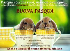 La cartolina di auguri di Pasqua 2014 da parte degli hotel del gruppo incomingarezzo