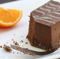 raw Marbled Chocolate & Orange Tavoletta