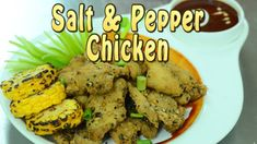 Chicken Fry And Roast Recipes 54 - Crispy Salt and Pepper Chicken Recipe Recipes With Chicken And Peppers, Chicken Stuffed Peppers, Chicken Recipes, Roast Recipes, Fun Recipes, Salt And Pepper Chicken, Indian Chicken, Fried Chicken, Fries