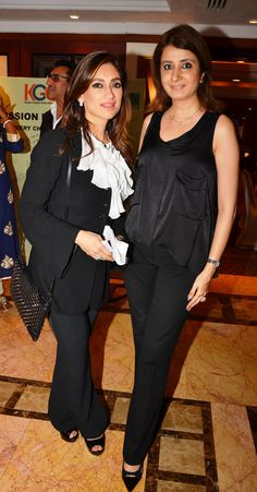 Lucky Morani and Jalpa Vithalani at the I Am Woman event