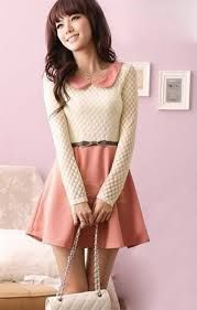 Shop Discount Korean Style Split Joint Polka Dots Lace Dress on sale at Tidestore with trendy design and good price. Come and find more fashion Lace Dresses here. Kawaii Fashion, Japan Fashion, Cute Fashion, Girl Fashion, Adrette Outfits, Preppy Outfits, Girly Outfits, Cute Dresses For Party, Pretty Dresses