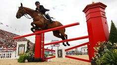 Olympic Show Jumping | Rule Britannia: In Olympics show jumping, horse and rider are a double ...