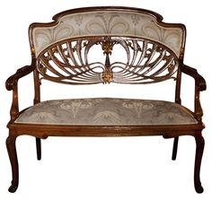 Art Nouveau Sofa
