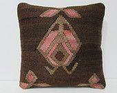 kilim pillow bedroom pillow case 16x16 large sofa pillow throw pillow kilim handmade pillow large floor pillow decorative throw pillow 24701