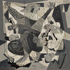 O Massacre dos Inocentes (Série Bíblica) 1943, Candido Portinari Modern Art, Contemporary Art, Henri Rousseau, Outsider Art, Sculpture, Pablo Picasso, Various Artists, South America, Latin America