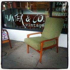 FLER Armchair just inbwith great wool upholstery #fler #vintage #vintageshop #retro #midcentury #danish #chair #furniture