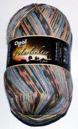 Sockenwolle - Opal Polarlichter 6-fach 5205
