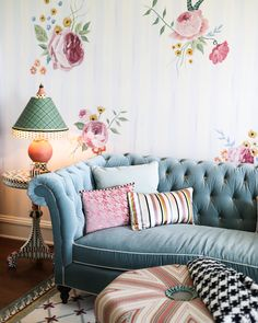 MacKenzie-Childs Farmhouse Tour: The Parlor Room Parlor Room, Diy Home, Home Decor, Cottage Garden Design, Room Pictures, Wall Treatments, Home Interior Design, Luxury Homes, Home Furniture