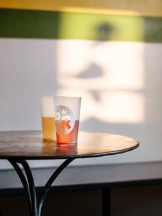 A sun drenched close up of an amber pint and a ginger beer in the upstairs room. Ginger Beer, Geneva, Amber, Sun, Tableware, Room, Bedroom, Dinnerware, Tablewares