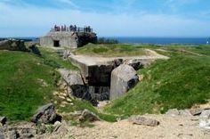 Grandcamp Maisy gun bunker, near Normandy, France