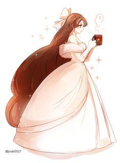 Cute Art Styles, Cartoon Art Styles, Kawaii Anime Girl, Anime Art Girl, Manga Girl, Anime Girls, Anime Girl Drawings, Cute Drawings, Vestidos Anime