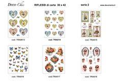 RIFLESSI DI CARTA:Carta con disegni a colori ideale per il trasferimento d'immagine con l'utilizzo della soluzione DecoTRANSFERmania. DEC: LIQ125   Formato A3 ( 295x420 mm)  www.deco-chic.it